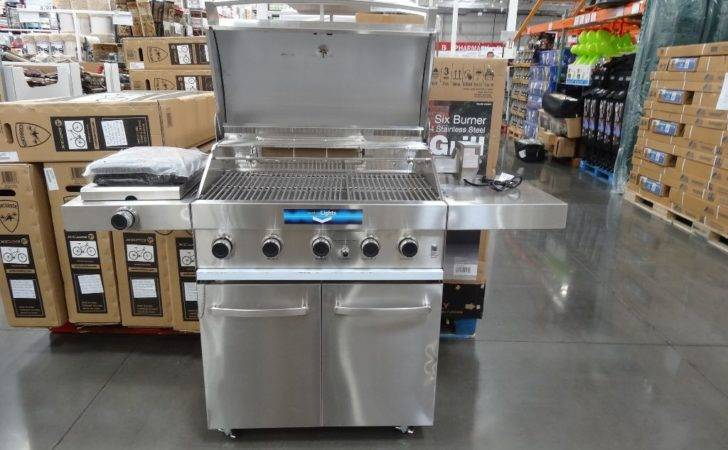 Grand Hall Burner Stainless Steel Gas Grill