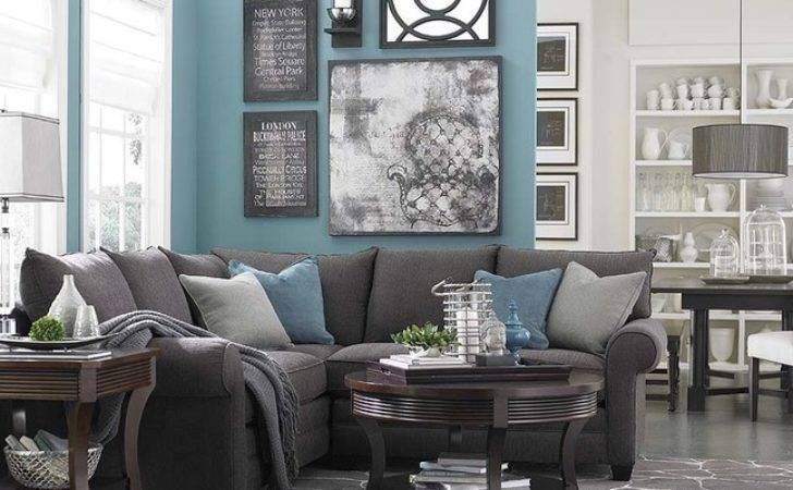 Gray Blue Living Room Related Grey