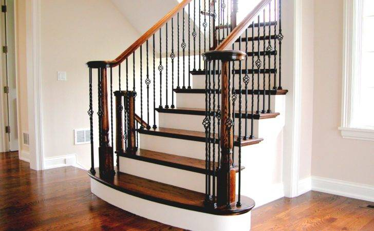 Great Beautiful Staircases Homes Wooden Handrails