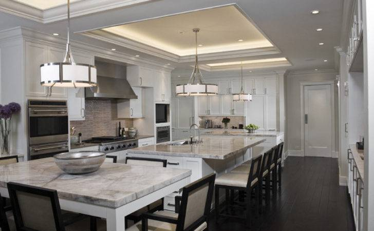 Great Classic Contemporary Kitchens Awesome Design Ideas
