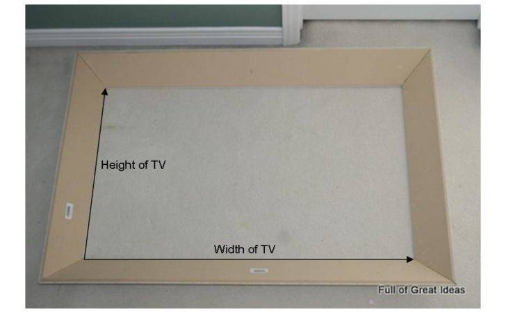 Great Ideas Perfect Flat Screen Frame