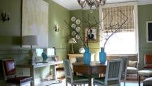 Green Dining Room Prime Home Design