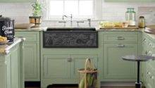 Green Kitchen Cabinets Design Photos Ideas Inspiration