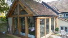 Green Oak Framed Kitchen Extension