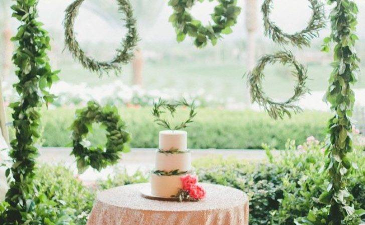 Greenery Spring Wedding Decor Ideas Youll Love