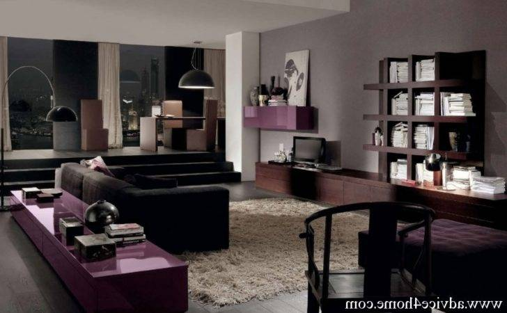 Grey Brown Living Room Interior Decorating Home