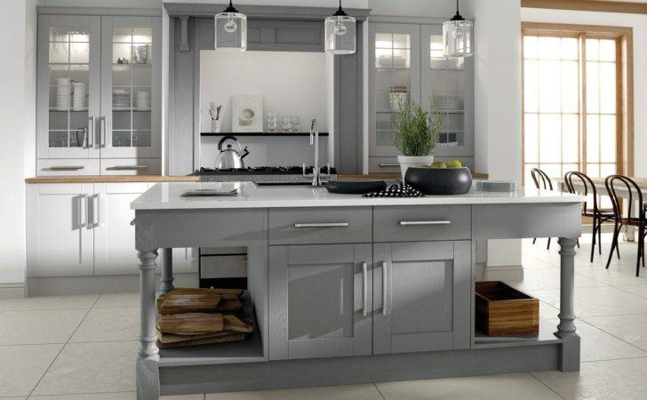 Grey Country Kitchen Dgmagnets