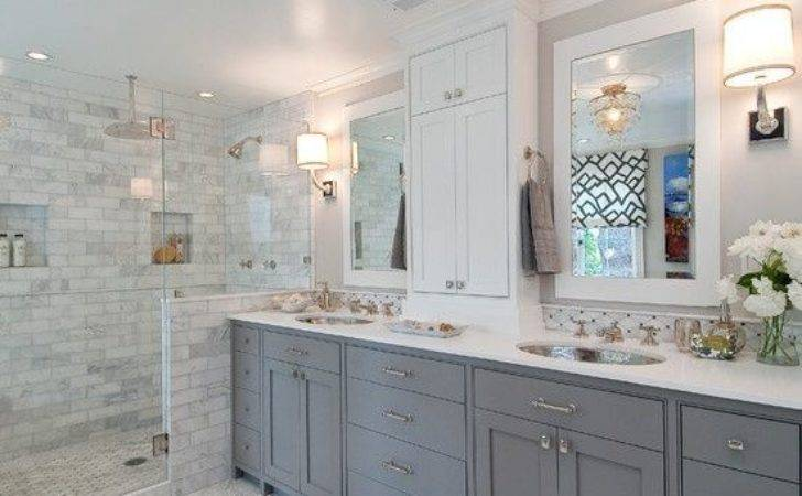 Grey White Bathroom Decorating Ideas