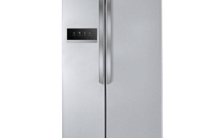 Gsb Pvqv Americanstyle Fridge Freezer Silver
