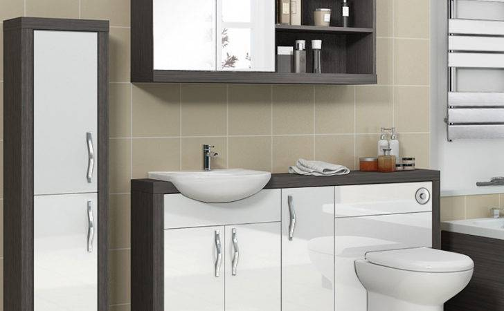 Hacienda Fitted Furniture Pack White Bathroom City