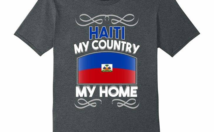 Haiti Country Home National Flag Shirt Rateeshirt