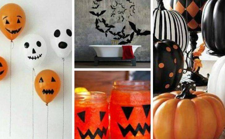 Halloween Decorations Can Make Under Each