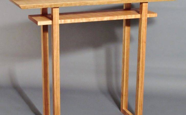 Hallway Furniture Wooden Narrow Entryway Table