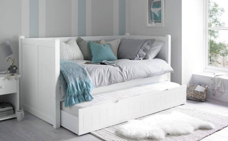 Hampton Day Bed Guest Underbed Painted Wood