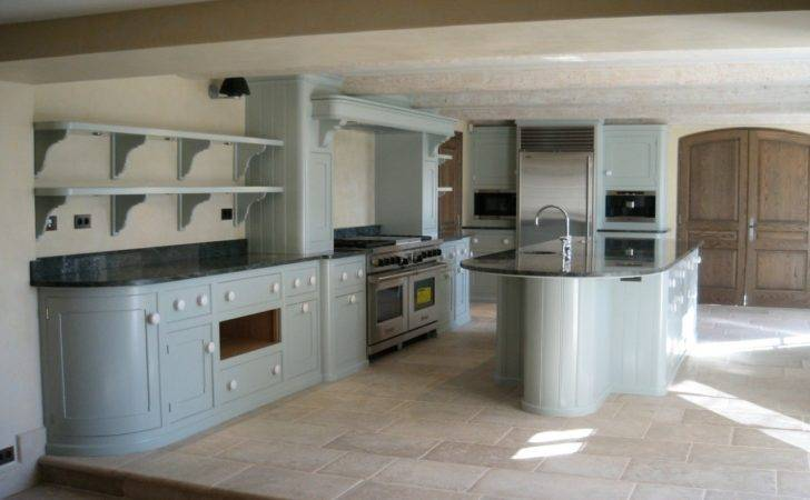 Hand Painted Kitchen Tropez France Kevin Mapstone