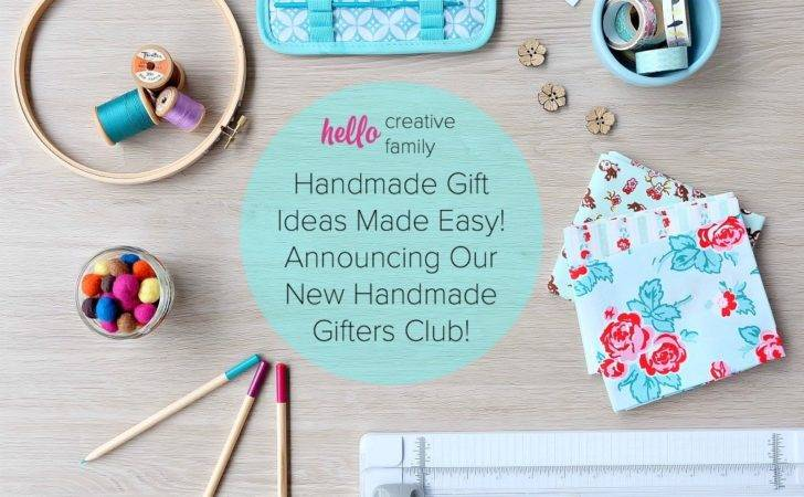 Handmade Gift Ideas Made Easy Announcing Our New