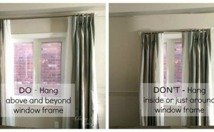 Hang Curtains Right Way