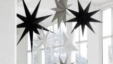 Hanging Paper Star Decoration Idyll Home