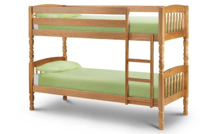 Happy Beds Lincoln Bunk Bed Pine Solid Wood Two Sleeper