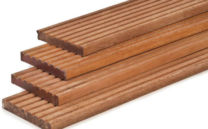 Hardwood Decking Boards Thick