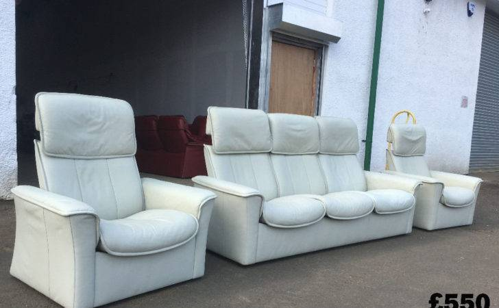 Harveys Dfs Leather Sofas Suite Couch Settee Delivery