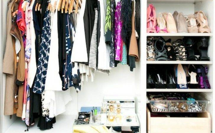 Haute Comely Small Wardrobe Organisation Ideas