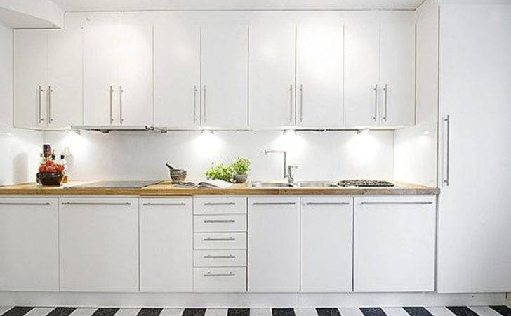 Have Contemporary White Kitchen Cabinets Your Home
