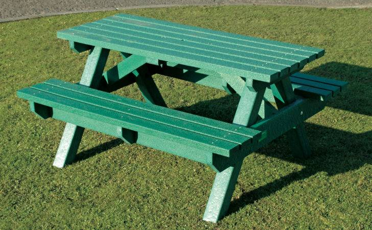Heavy Duty Picnic Table Bench Weatherproof Recycled