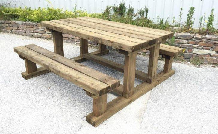 Heavy Duty Picnic Table Sustainable Furniture