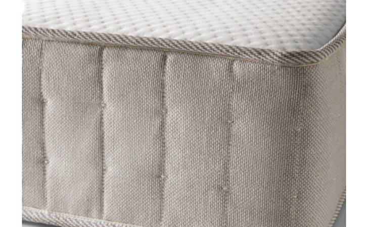 Hesseng Pocket Sprung Mattress Medium Firm Natural Colour