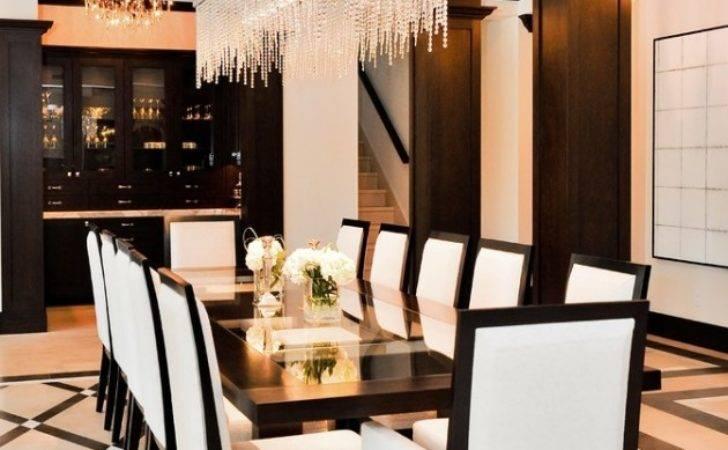 High End Contemporary Dining Room Designs