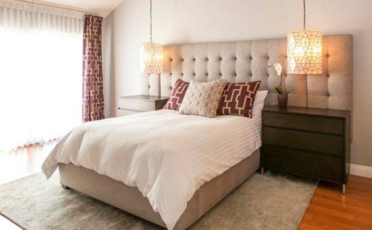 High End Hotel Styled Bedroom Oversized Tufted