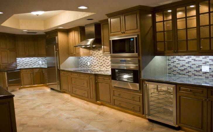 High End Kitchen Designs Small One Wall Kitchens