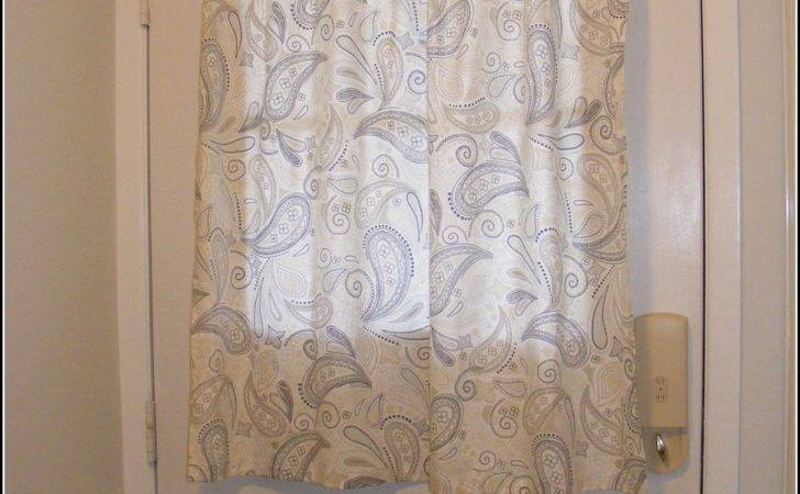 Hinged Curtain Rods French Doors Home