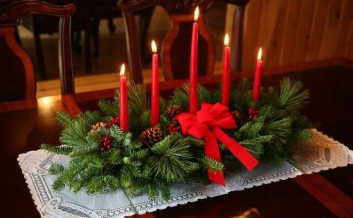Holiday Centerpieces Great Choices Throughout