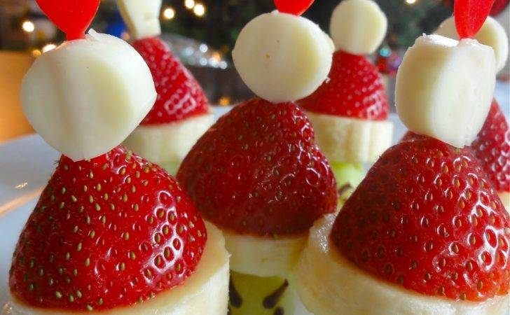 Holiday Snack Diy Grinch Party Poppers Kabobs