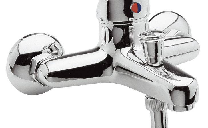 Holly Chrome Wall Mounted Bath Filler Shower Mixer Tap Ebay