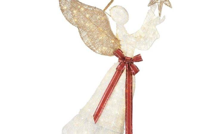 Home Accents Holiday Light Led Pvc Angel