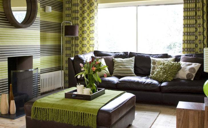 Home Decor Room Brown Green Trendy Paint