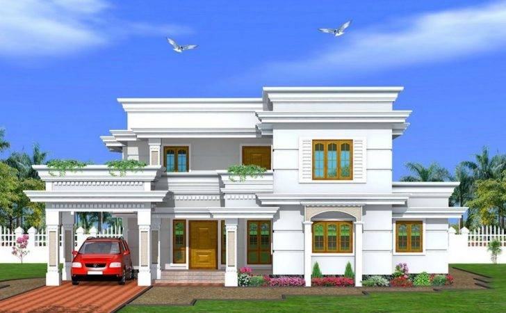 Home Design Front House Plan