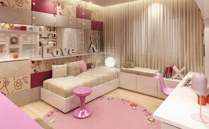 Home Design Interior Monnie Best Girl Bedrooms World