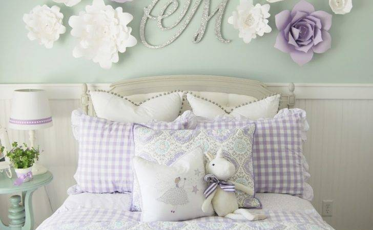 Home Heidi Purple Turquoise Little Girls Room