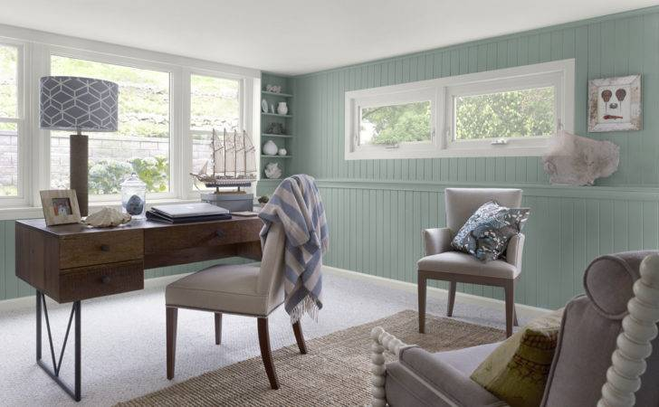 Home Office Comfortable Color Schemes