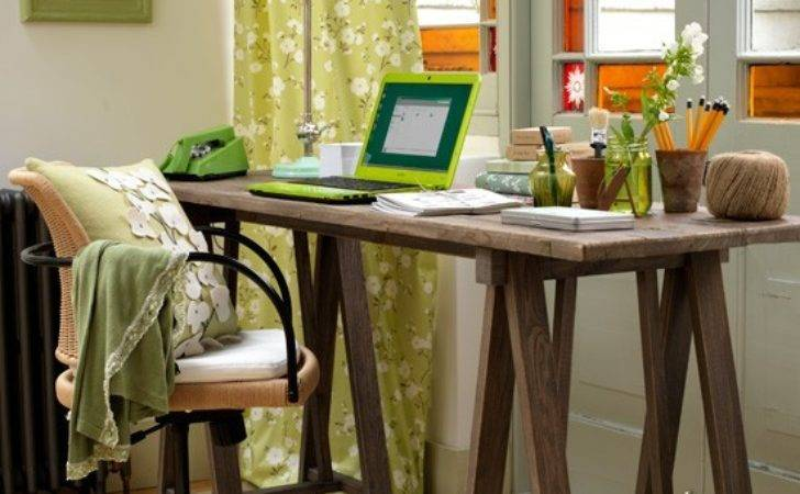 Home Office Cor Ideas Bring Spring Your