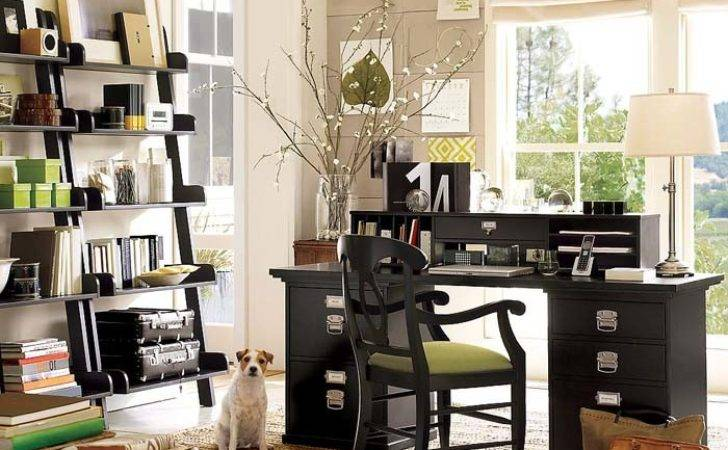 Home Office Design Ideas Pottery Barn Homey Designing