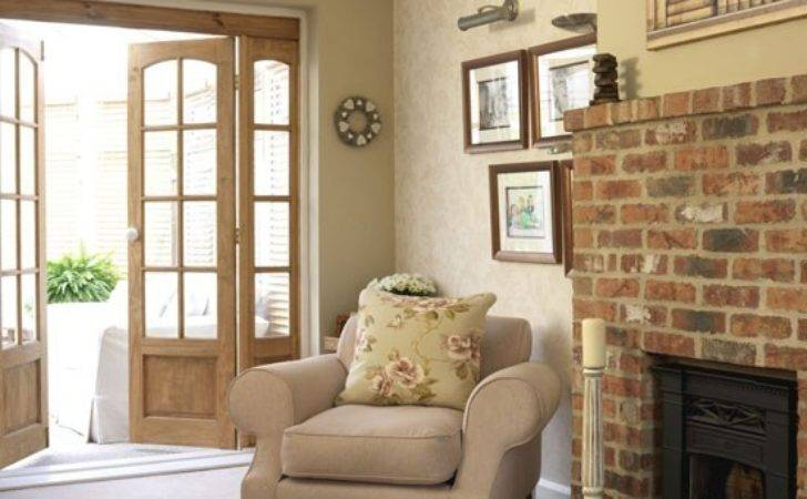 Homely Country Living Room Design