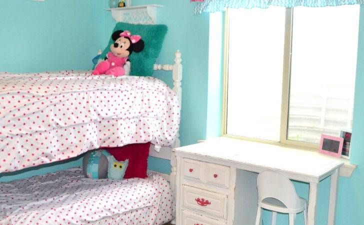 Hometalk Hot Pink Turquoise Girls Bedroom Makeover