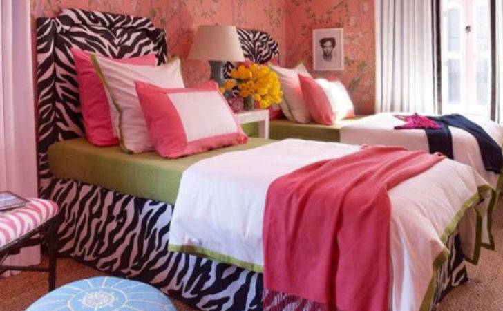 Hot Pink Room Decor Ideas Zebra Print Bedding