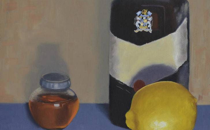 Hot Toddy Ingredients Painting Leana Villiers