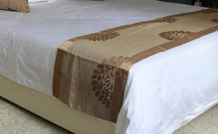 Hotel King Bed Runner Different Pattern